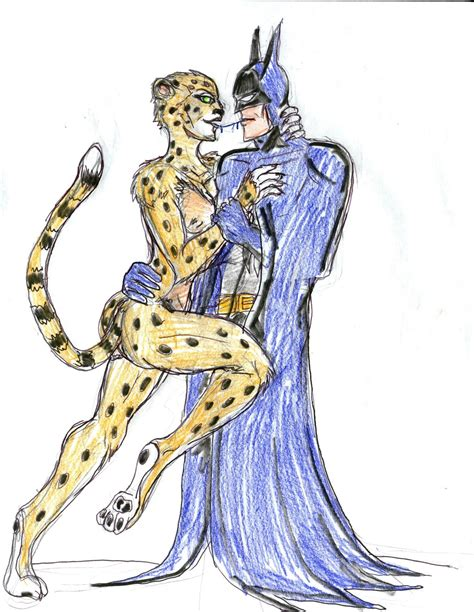 Batman And Cheetah commission by theaven on DeviantArt