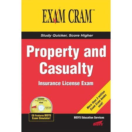 You can succeed on the property & casualty test and become a licensed property & casualty insurance sales agent by learning critical concepts on the test so that you are prepared for. Exam Cram (Pearson): Property and Casualty Insurance License Exam Cram (Paperback) - Walmart.com