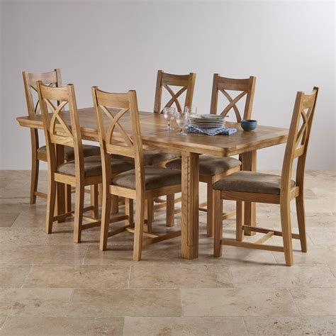 dining table and 6 chairs canterbury extending dining set table 6 sage fabric chairs