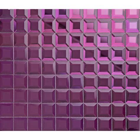 pink glass tile purple glass mosaic tile mirror tile wall