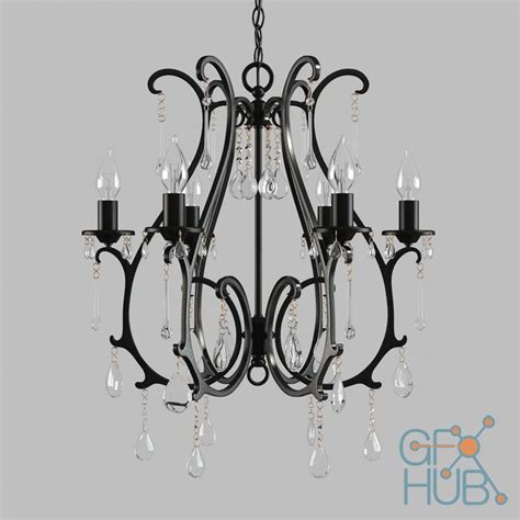pottery barn celeste chandelier 3d model chandelier and sconce celeste pottery barn