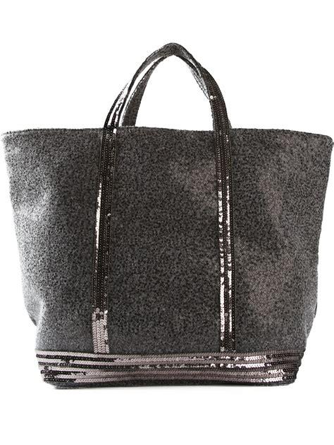 vanessa bruno tote bag  grey gray lyst