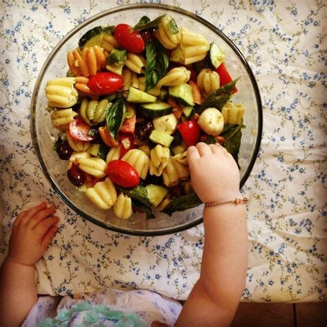Pasta salad with ranch dressing for the ranch lovers. Festive Pasta Salads : Festive Pesto Pasta Salad   Crumb Top Baking : This pasta salad is the ...