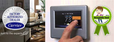 Carrier Infinity Touch Control Thermostadt