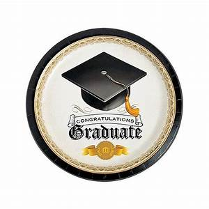 Graduation Tableware: Graduation Table Supplies