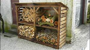 Log / Wood Store - A Great Example - YouTube