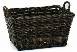 Pair of large wicker baskets » Home Decorations Insight