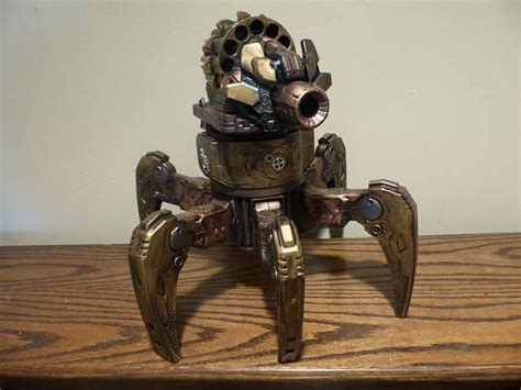 terradrone steampunk nerf robot  remote robotic gizmos