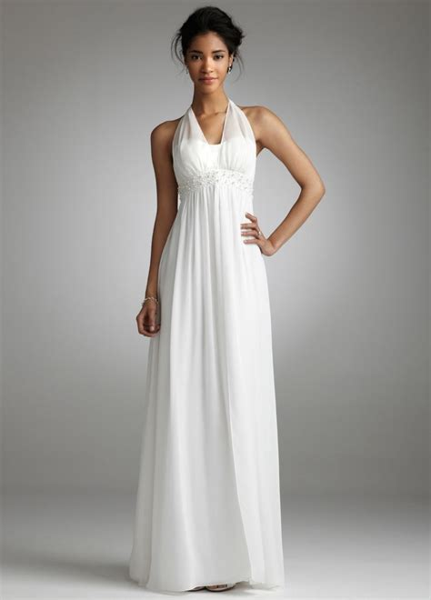 Long White Dresses For Juniors   Vogue Gown