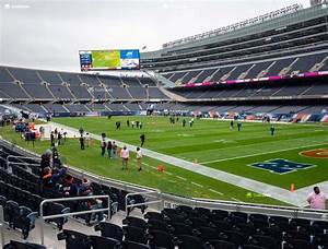 Soldier Field Section 128 Seat Views Seatgeek