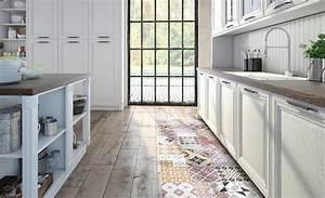 1000 idees sur le theme carreaux de vinyle sur pinterest With sol vinyle pour cuisine
