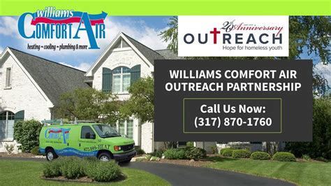 williams comfort air williams comfort air outreach partnership