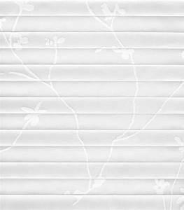 Plissee Weiss Mit Muster : plissee floral 4105 ~ Frokenaadalensverden.com Haus und Dekorationen