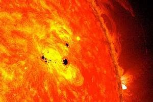 Sunspots: Huge and growing fast, says NASA - CSMonitor.com