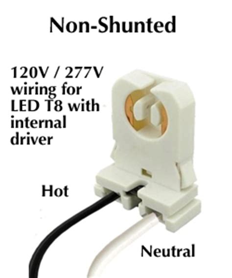 shunted l holder definition led lights to replace fluorescent