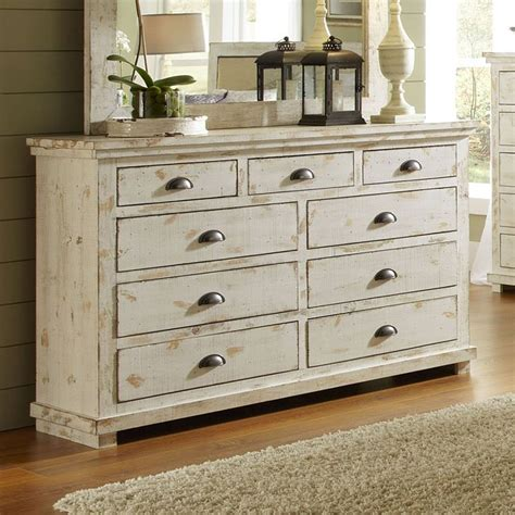 white distressed dresser willow drawer dresser distressed white dressers