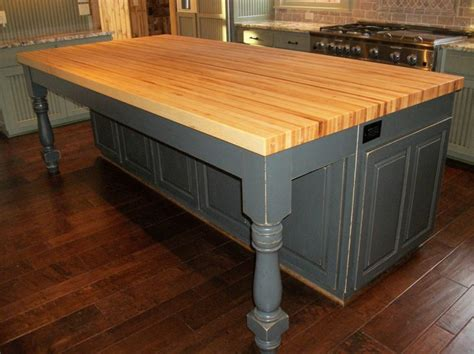 kitchen island with butcher block borders kitchen solid hardwood butcher block top island