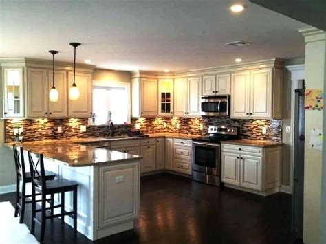 Kitchen Design Shaped With Island Kitchens