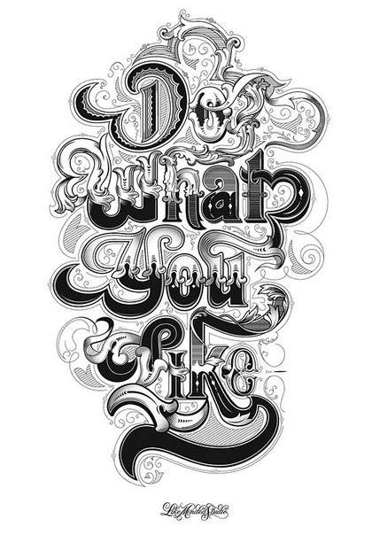 creative typography font designs  inspiration inspiration graphic design blog