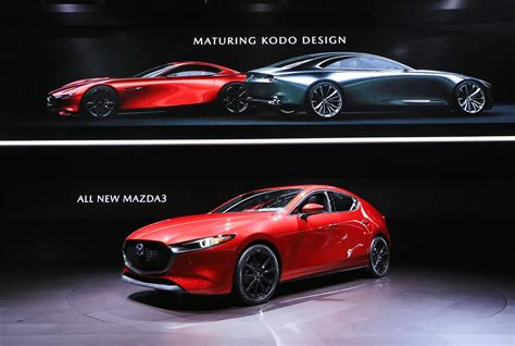 Mazda Car : New 2019 Mazda 3 News And Pictures