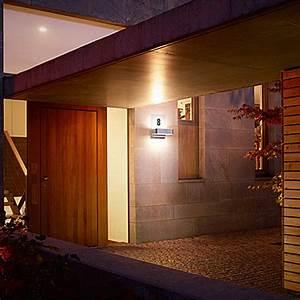 Up Down Außenleuchte Anthrazit : steinel led au enleuchte l 820 ihf up down mit hausnr leistung 12 w farbe geh use silber ~ Whattoseeinmadrid.com Haus und Dekorationen