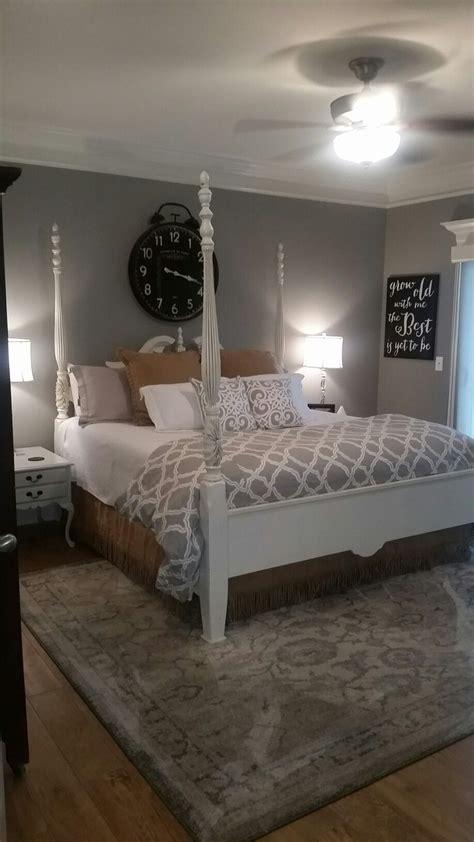 master bedroom   condo dorian grey walls ceramic