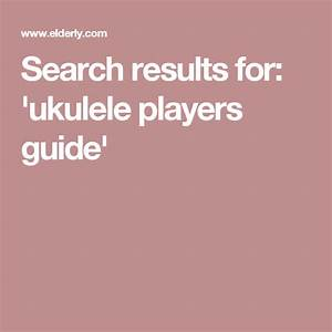 Search Results For   U0026 39 Ukulele Players Guide U0026 39