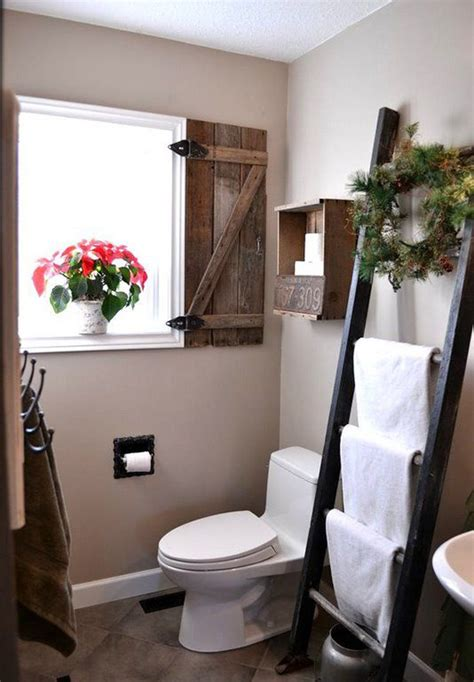 vintage small bathroom  cozy retreat
