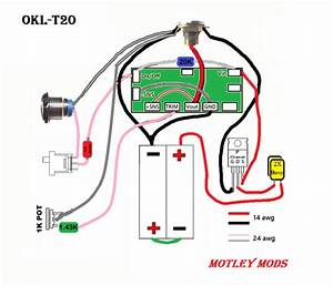 Unregulated Box Mod Wiring Diagram
