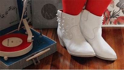 Vinyl Gifs Boots Tapping Dj Stunning Animated