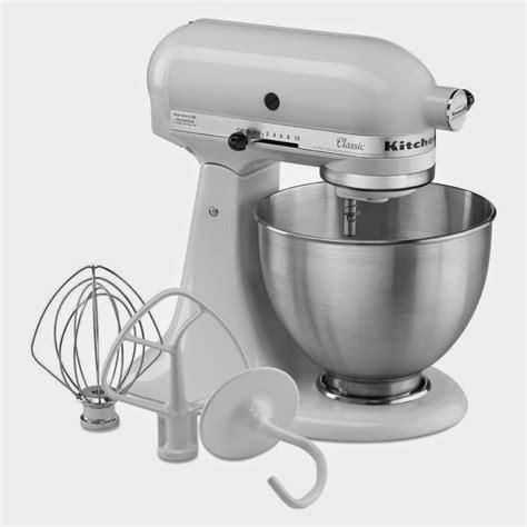kitchenaid mixer stand classic quart k45sswh k45ss colors garden accessories plus