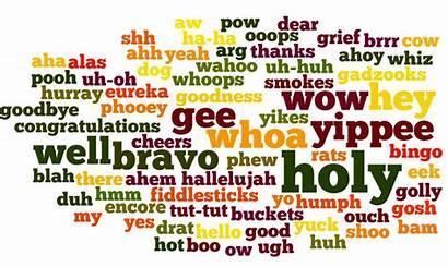 Interjection Interjections Speech English Grammar Parts Basic