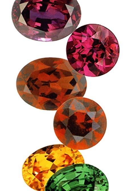 garnet gemstone melting point