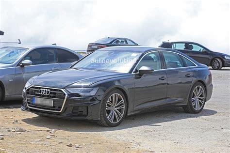 Audi 2019 S6 : 2019 Audi S6 Sedan Spied With Quad Exhaust