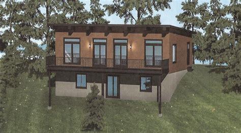 aspen  modern style sloped roof liscott custom homes