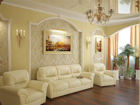 Дизайн интерьера зала в Тюмени