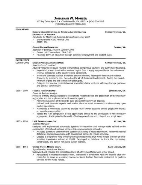 Resume Template For Wordpad by Resume Template Word Pad Resume Template