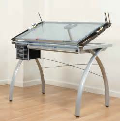 white drafting table for modern look office architect