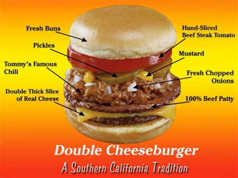 reality check tommys double cheese  chili burger
