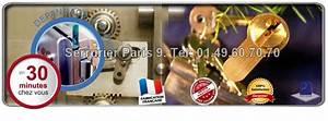 serrurier paris 9 0149607070 depannage serrurerie With serrurerie paris 9