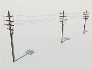 Liberscol Pole 3d : wooden power line utility pole 3d model 3d models world ~ Medecine-chirurgie-esthetiques.com Avis de Voitures