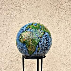 Sculpture En Papier Maché : abstract papier mache globe sculpture paper earth created by ren e ~ Melissatoandfro.com Idées de Décoration