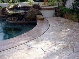 decorative concrete joints  images concrete pool