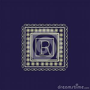 english alphabet r for premium monogram stock With letter shaped picture frames
