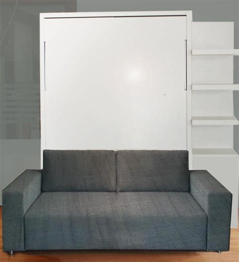murphy bed with sofa wall bed with sofa gloss finish ultra light vancouver
