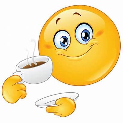 Morning Clipart Smiley Face Clip Coffee Faces