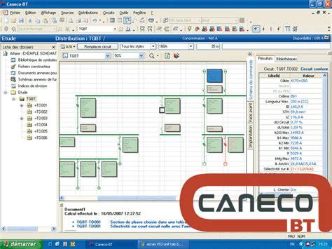 caneco bt logiciel de conception automatisee d