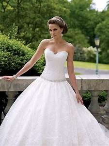 lace over taffeta strapless sweetheart neck wedding dress With sweetheart strapless wedding dress