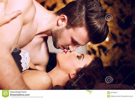 Bals In An Passionate Foreplay Action