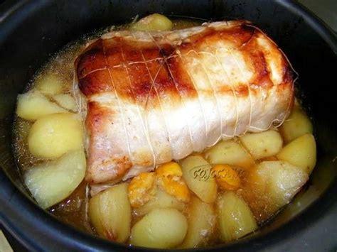 cuisine roti de porc en cocotte les meilleures recettes de cuisine au four et rôti